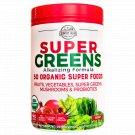 Country Farms Super Greens Berry flavor 50 Organic Super Foods 10.6 oz 20 servings