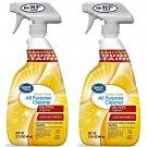 Great Value All Purpose Cleaner Spray Lemon Scent (32 oz Spray) 2 Spray