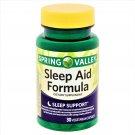 Spring Valley Sleep Aid Formula Sleep Support 30 Vegetarian Capsules