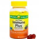 Spring Valley Immune Plus Immune Sistem Support 60 Vegetarian Gummies