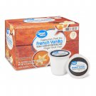 Great Value French Vanilla Cappuccino Mix Coffee Pods 12 Pods Pack