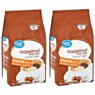 Great Value Hazelnut Medium Ground Coffee (12 oz Pack) 2 Pack