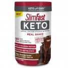 SlimFast Keto Meal Replacement Shake Powder Fudge Brownie Batter 13.4 Oz