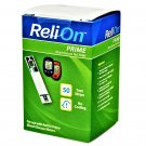 ReliOn Prime Blood Glucose Test Strips 50 Strips