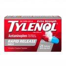 Tylenol Extra Strength Acetaminophen 500mg Rapid Release 24 Gelcaps