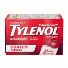 Tylenol Extra Strength With Acetaminophen 500mg 24 Coated Tablets