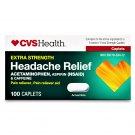 CVS Health Extra Strength Headache Relief Acetaminophen 100 Caplets