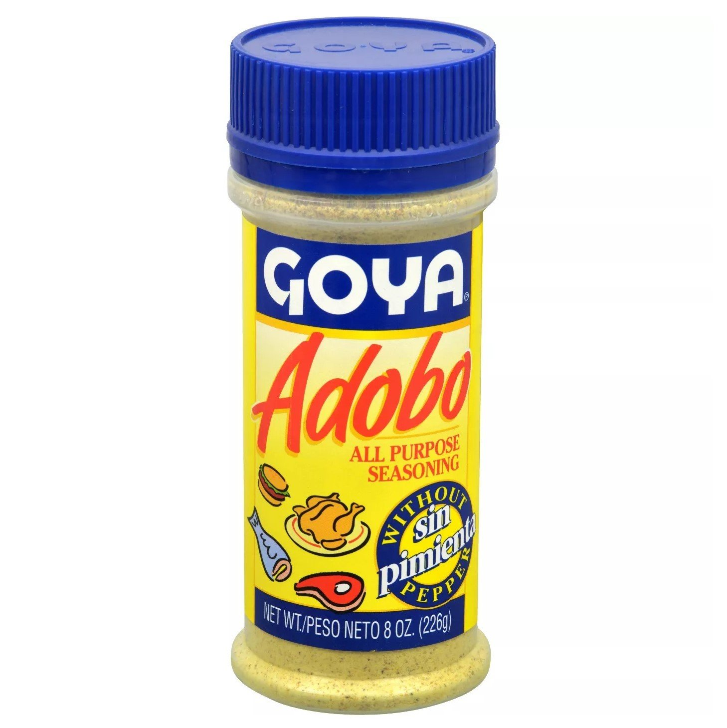 Goya Foods Adobo All Purpose Seasoning With Out Pepper 8 Oz
