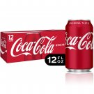 Coca-Cola Soda Soft Drink 12oz 12 Cans Pack