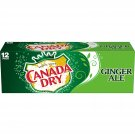 Canada Dry Ginger Ale 12oz 12 Cans Pack