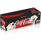 Coca-Cola Zero Sugar Diet Soda Soft Drink (12oz Can) 12 Cans