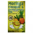 Moringa Pineapple & Garcinia Cambogia Tea Dietary Supplement 30 Tea Bags