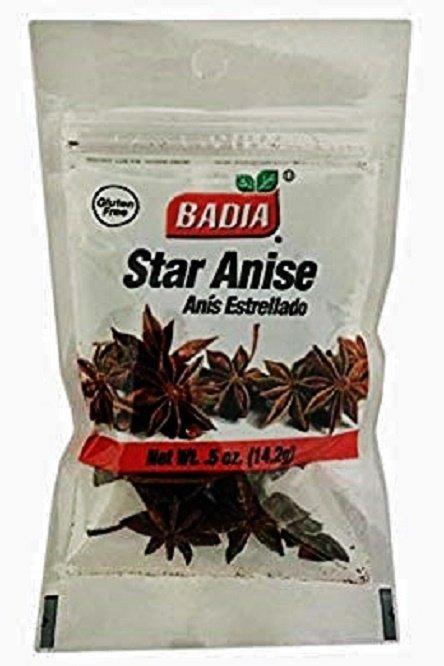 Badia Star Anice / Anis Estrellado (0.5 oz Bag) 3 Bags