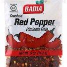 Badia Red Crushed Pepper / Pimienta Roja Triturada (0.5 oz Bag) 3 Bags