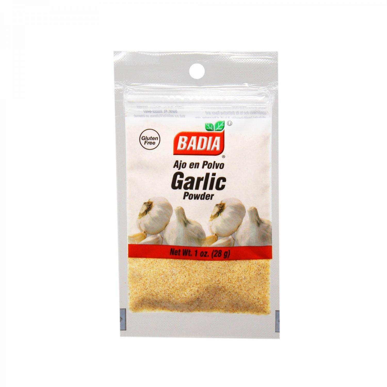 Badia Garlic Powder / Ajo en Polvo (1 oz Bag) 2 Bags