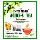 Tierra Madre Acid Reflux Relief Tea / Acide-s Tea Herbal Supplement 15 Tea Bags