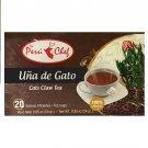 The Peru Chef  Cat's Claw / Una de Gato  Herbal Tea (20 Tea Bags Box) 2 Boxes