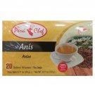 The Peru Chef Anise / Anis Herbal Tea (20 Tea Bags Box) 2 Boxes