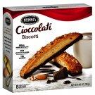 Nonni's Cioccolati Dark Chocolate Biscotti (6.8 Oz 8 Biscotti Box) 4 Boxes