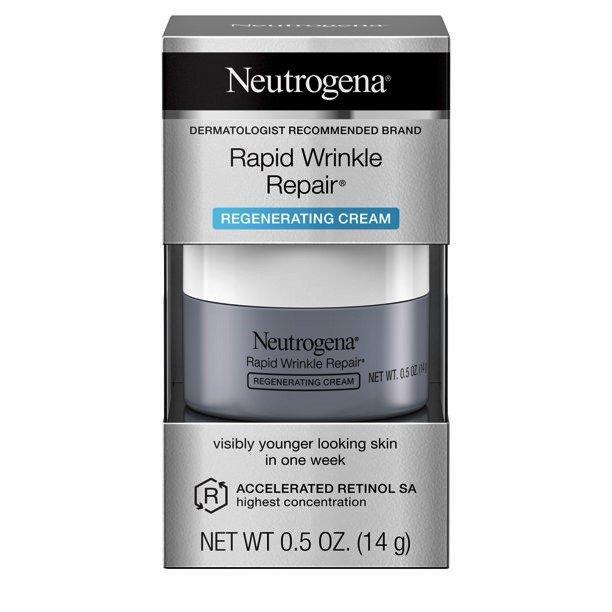 Neutrogena Rapid Wrinkle Repair with Retinol Anti-Wrinkle Face & Neck Cream 0.5 oz