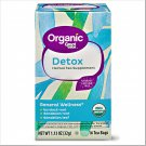 Great Value Organic Herbal Tea Supplement Detox (1.13 oz 16 Tea Bags Box) 2 Boxes