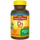 Nature Made Vitamin D3, 1000 IU (25 mcg) 240 Chewable Tablets