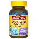 Nature Made Postnatal Multivitamin + DHA Dietary Supplement 200 mg DHA 60 Softgels