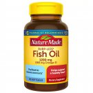 Nature Made Burpless Fish Oil 1200 mg Dietary Supplement 60 Softgels