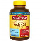 Nature Made Ultra Omega-3 Fish Oil 1400 mg Dietary Supplement 90 Softgels