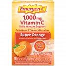 Emergen-C 1000mg Vitamin C w/ Antioxidants B Vitamins & Electrolytes Super Orange 10 Packets