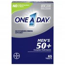 One A Day Men's 50+ Health Advantage Multivitamin / Multimineral Dietary Supplement 65 Tablets