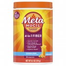 Metamucil Psyllium Sugar-Free Fiber Supplement Powder Orange Flavor 30 Tsp