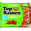 Nissin Top Ramen Noodle Soup Chili Flavor 8 Pack