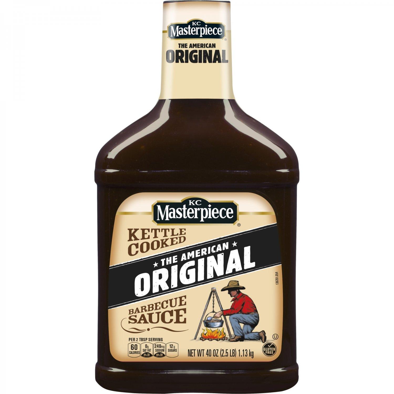 KC Masterpiece Original Barbecue Sauce 40 Oz
