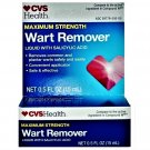 CVS Health Wart Remover Maximum Strength Liquid With Salicylic Acid 0.5 Oz