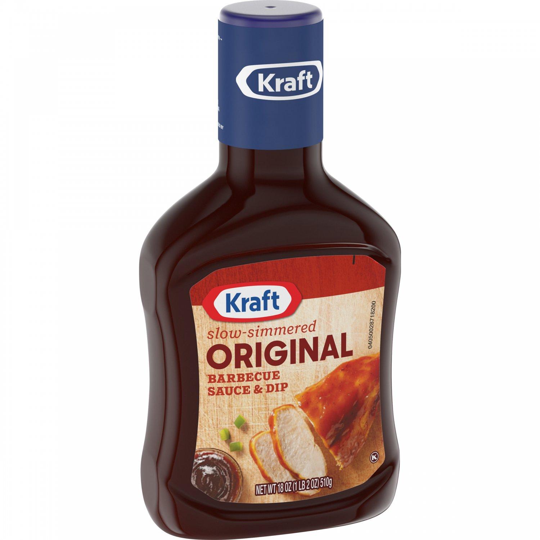 Kraft Original Slow-Simmered Barbecue Sauce and Dip 18 oz