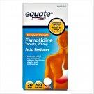 Equate Maximum Strength Acid Reducer Famotidine Tablets 20 mg 200 Tablets