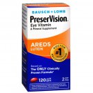 Bausch & Lomb Preservision Eye Vitamin and Mineral Supplement Areds Lutein 120 Softgels