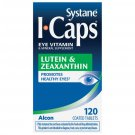 Systane I-Caps Lutein and Zeaxanthin Eye Vitamin Coated Tablets 120 Count
