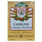 Tadin Cinnamon Tea Blend (Canelita) Herbal Tea 24 Tea Bags