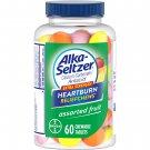 Alka Seltzer Extra Strength Heartburn Relief Chews Antacid Tablets 60 Count