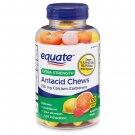 Equate Extra Strength Assorted Fruit Antacid Chews 750 mg 120 Count