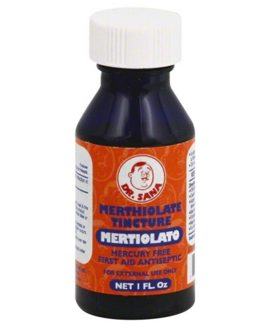 Dr Sana Merthiolate Tincture Antiseptic First Aid 1 oz