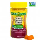 Spring Valley Turmeric Curcumin Vegetarian Gummies 60 Count