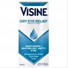 Visine Dry Eye Relief Lubricating Eye Drops for Dry Eyes 0.5 oz