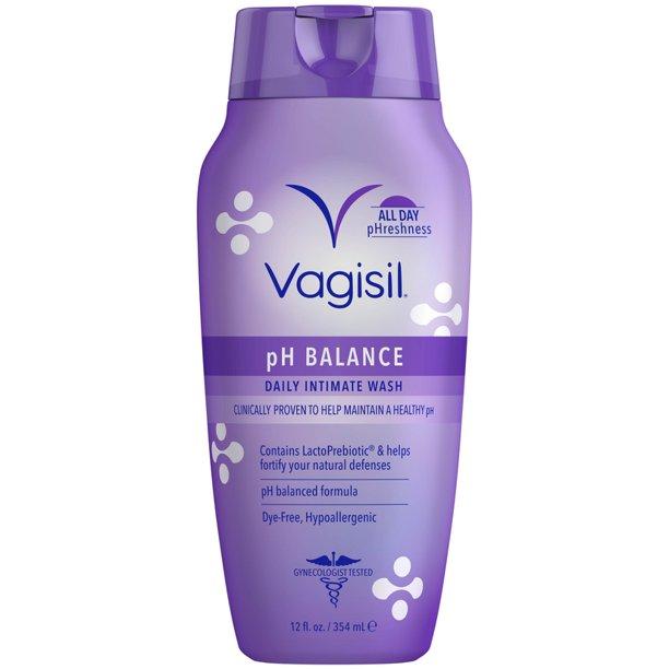 Vagisil Vaginal Wash pH Balance Daily Intimate 12 oz