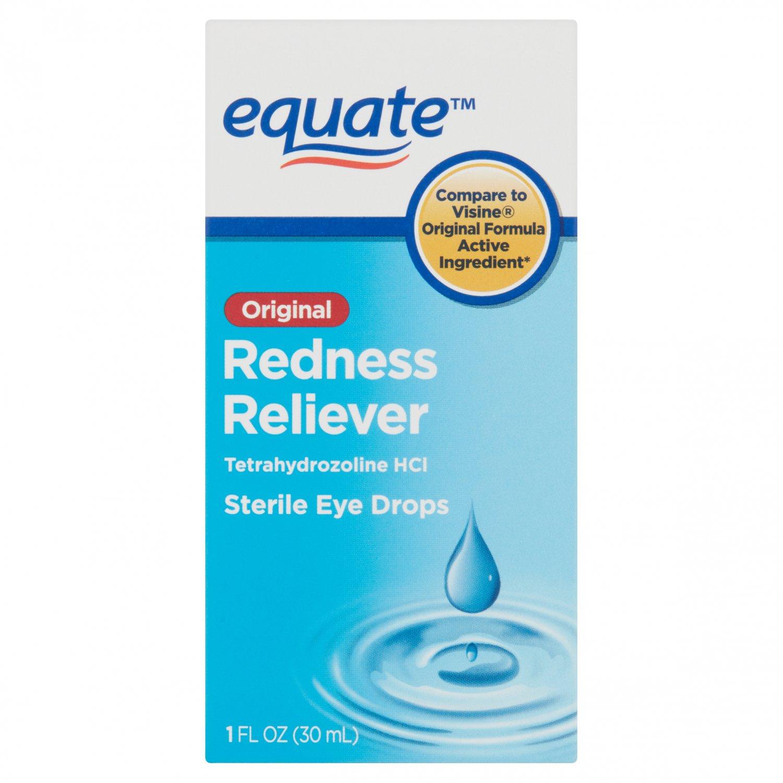 Equate Original Redness Reliever Sterile Eye Drops 1 oz