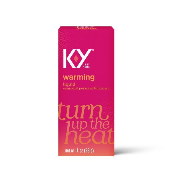 K-Y Warming Personal Water Based Lubricant 1 oz