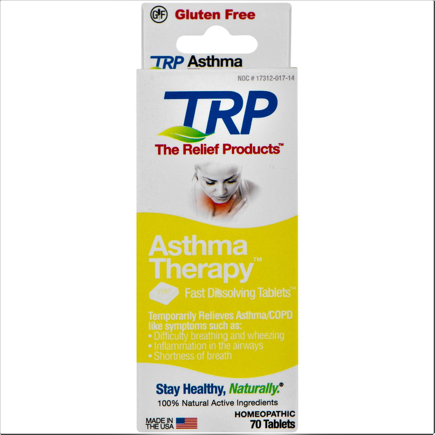 Trp Asthma Therapy Fast Dissolving Tablets 70 Count