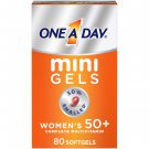 One A Day Women's 50+ Mini Gels Multivitamins for Women 80 Count